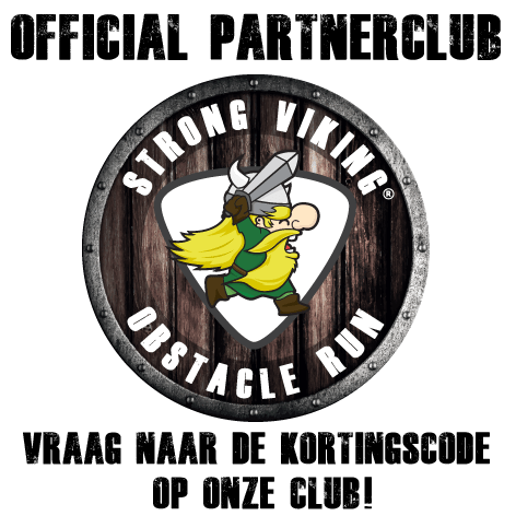 Strong Viking Obstacle Run Official Partner logo